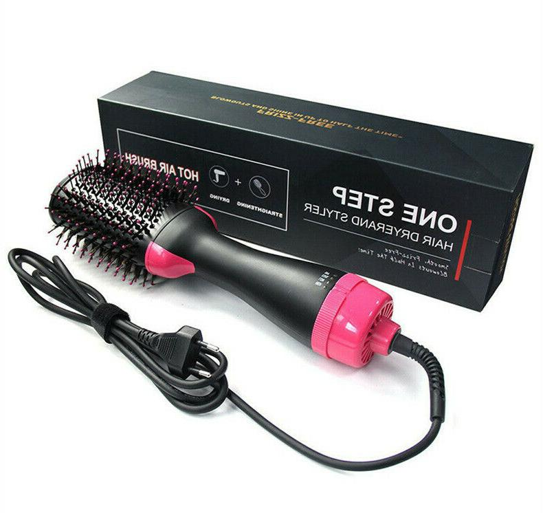 Hair Straightener Air Brush🙂 Step Volumizer