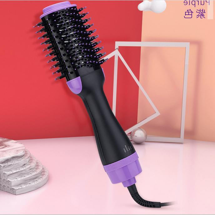 Hot Brush&Hair Brush&Curly Comb in 1 Straightening