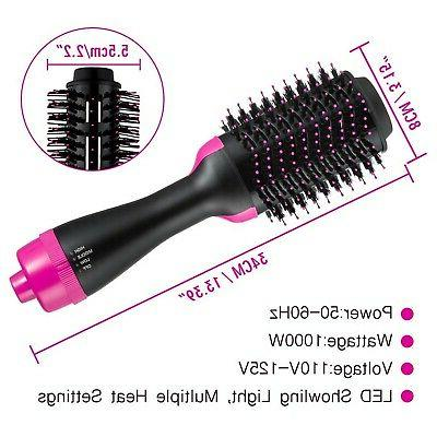 Hot Volumizer Hair Dryer & Curly Step Ceramic