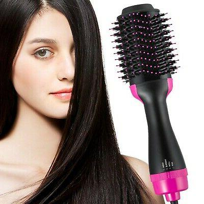 hot air brush and volumizer hair dryer