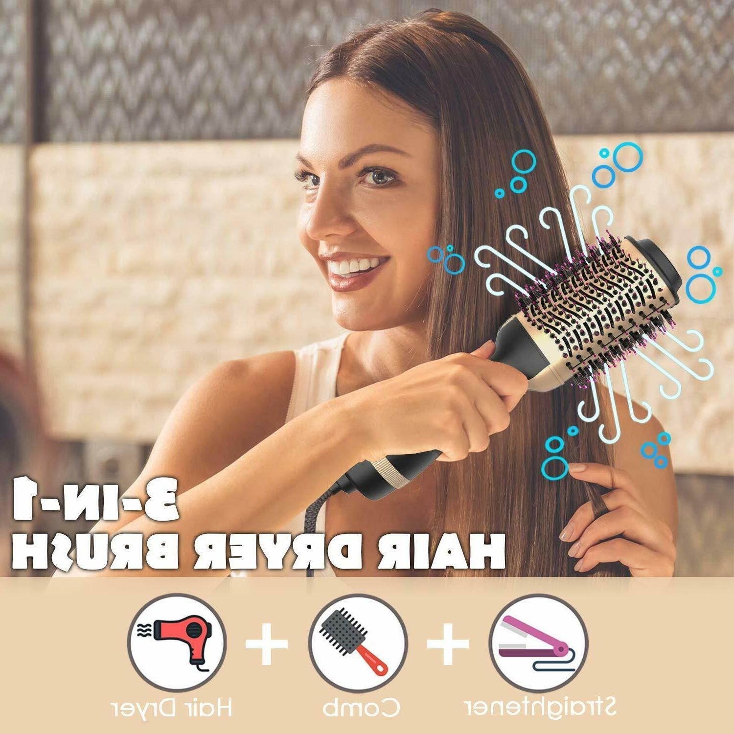 Hot Air Hair Step Dryer and Styler