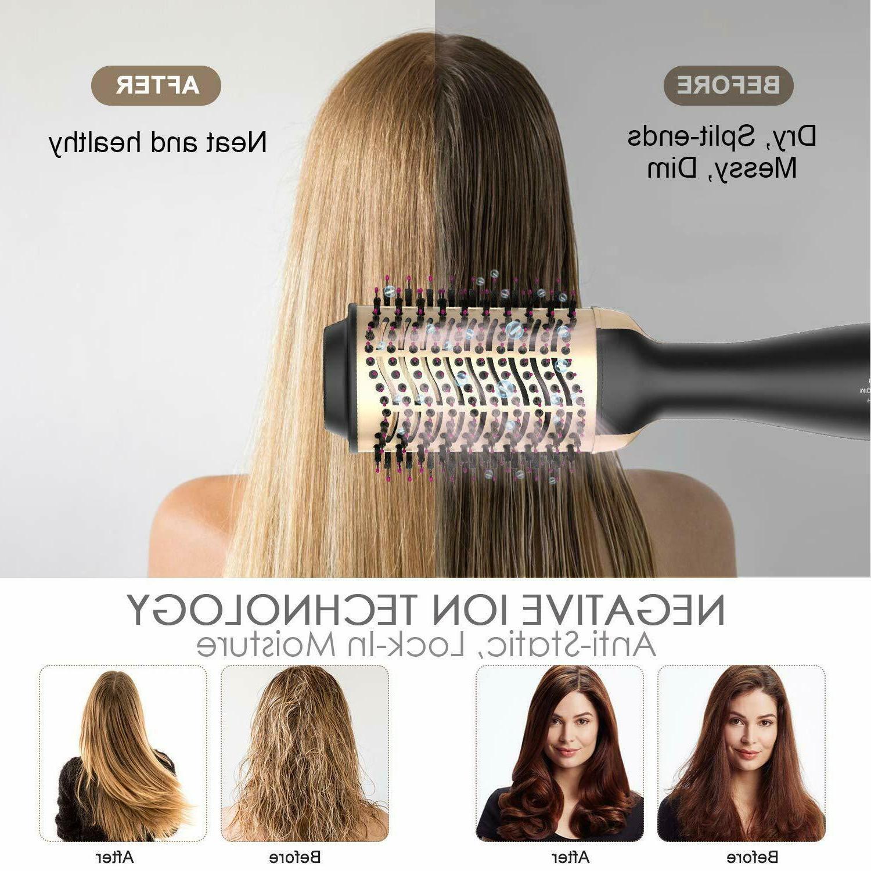 Hot Air Hair Dryer Step Styler Volumizer..