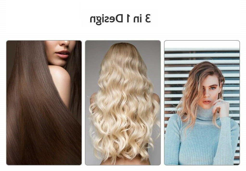 Hot Air Curler Hair Straightener