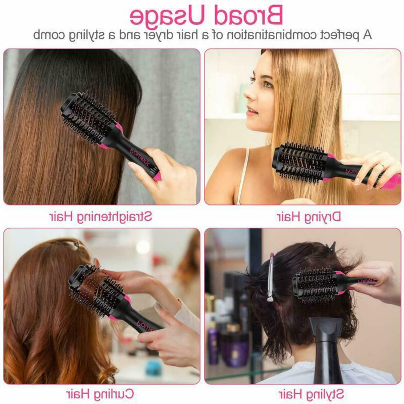 Hot Brush Step Straightener Styling