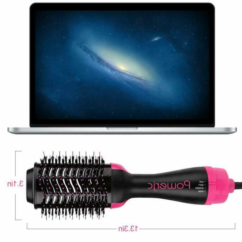 Hot Brush Step Hair