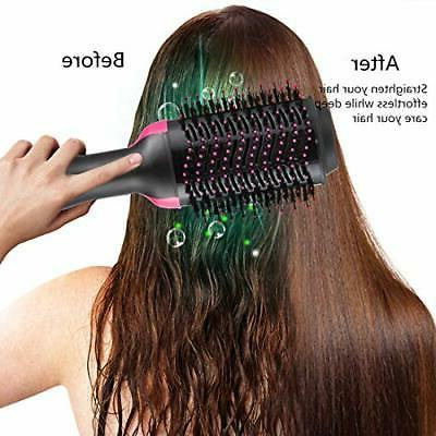 Hot Brush Step Dryer Volumizer Styler Brush,Hair