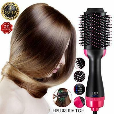 hot air brush one step hair dryer