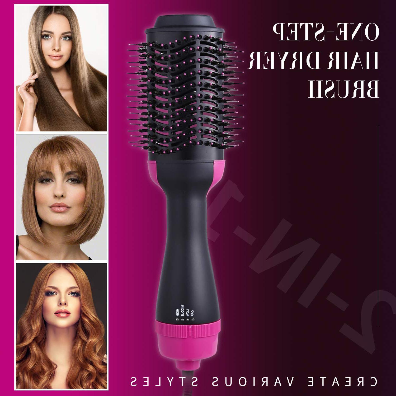 Hot Air Brush, Professional Salon Hair Straightener