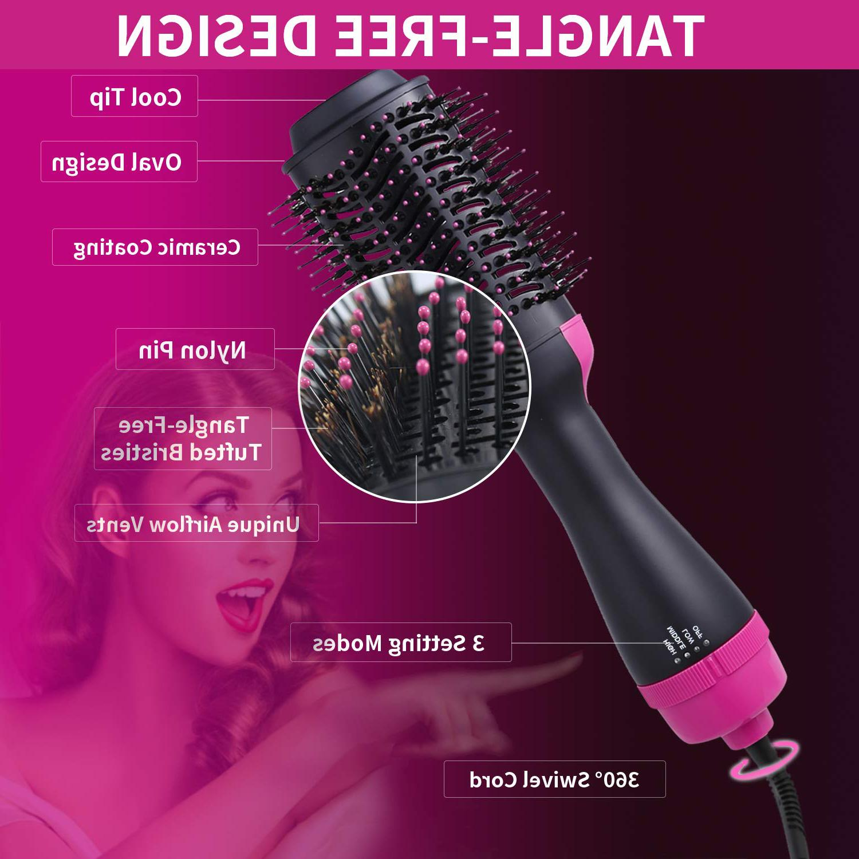Hot Professional Salon Straightener Brush with