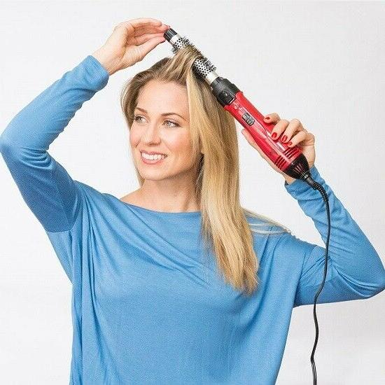 hot air curling iron brush styler 1200w