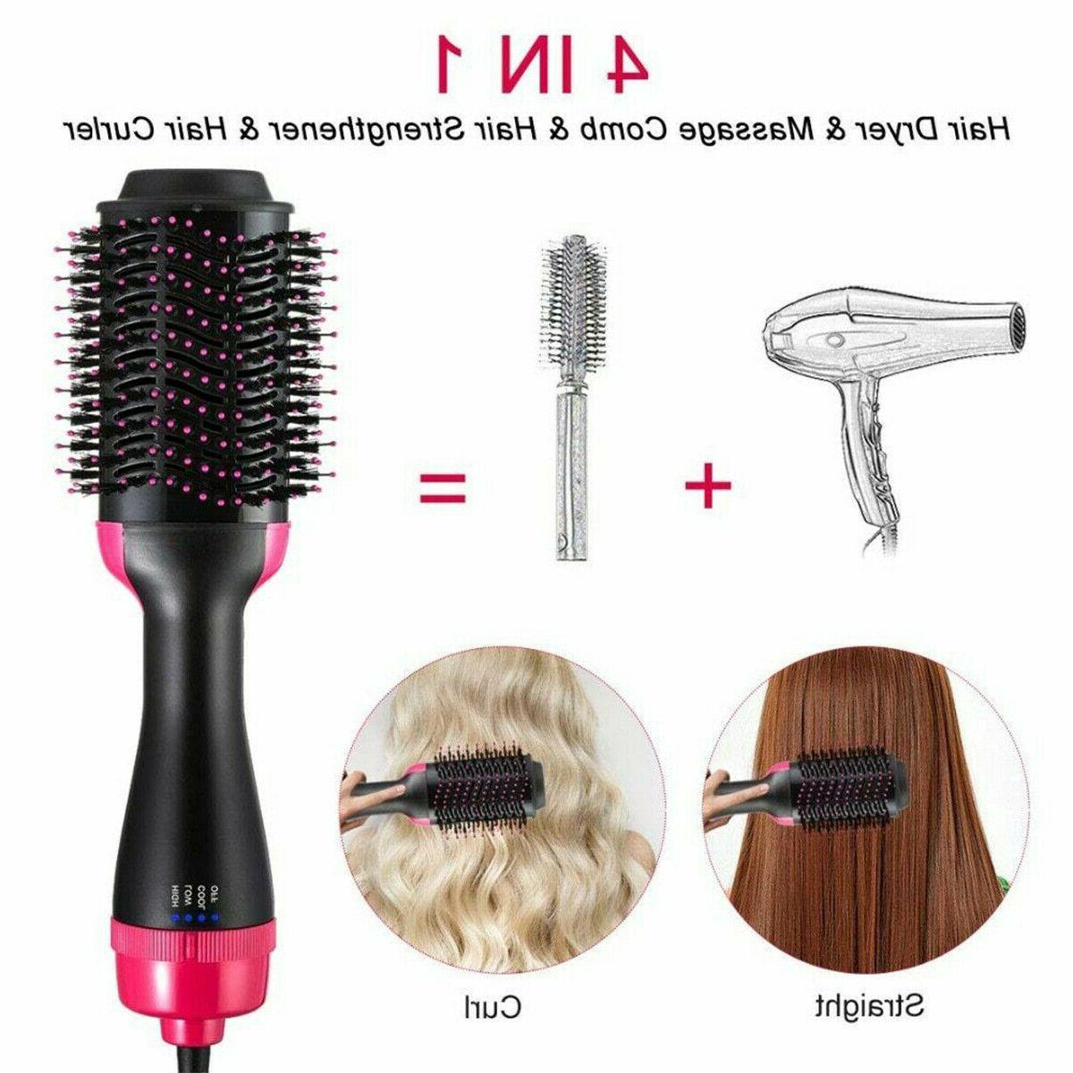 Hot Brush One With Negative Ion Dryer Styling