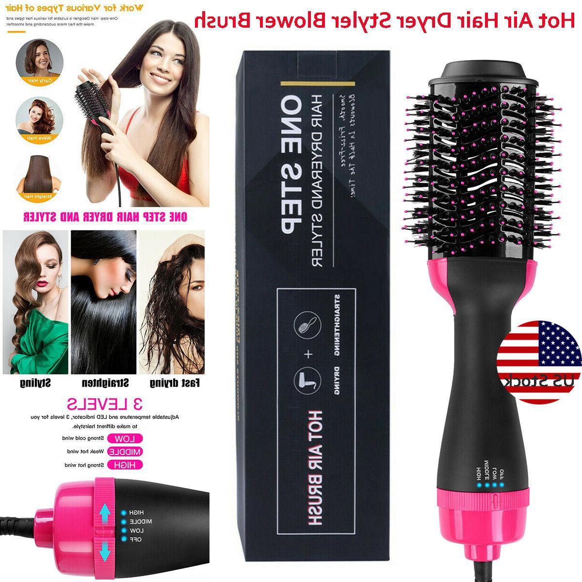 3 in1 multifunction hot air brush hair