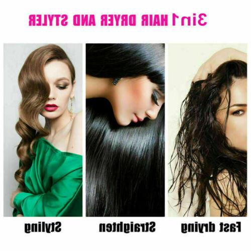 Hot Dryer Negative Ion Blow Dryer Straight Curl