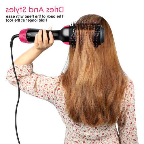 3in1 Blow Brush Comb Air Hair Tool Beauty