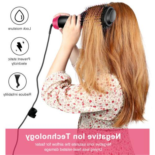 Brush Air Hair Dryer Straightener Hair Tool