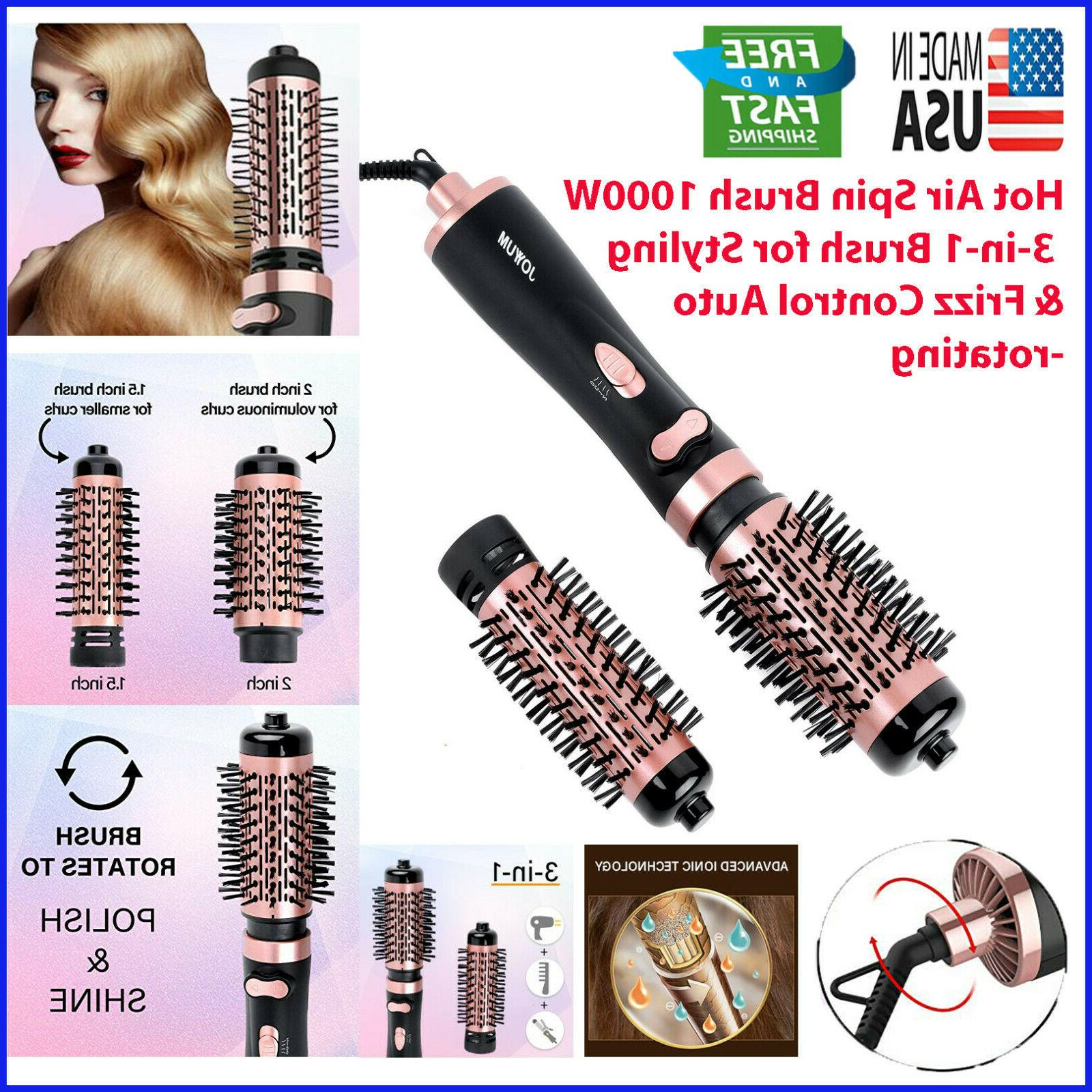 hot air spin brush 1000w 3 in
