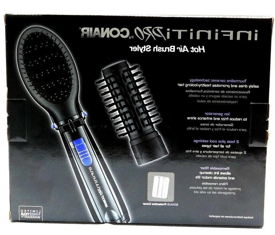 INFINITI Tourmaline 1 1/2'' Hot Brush-NEW