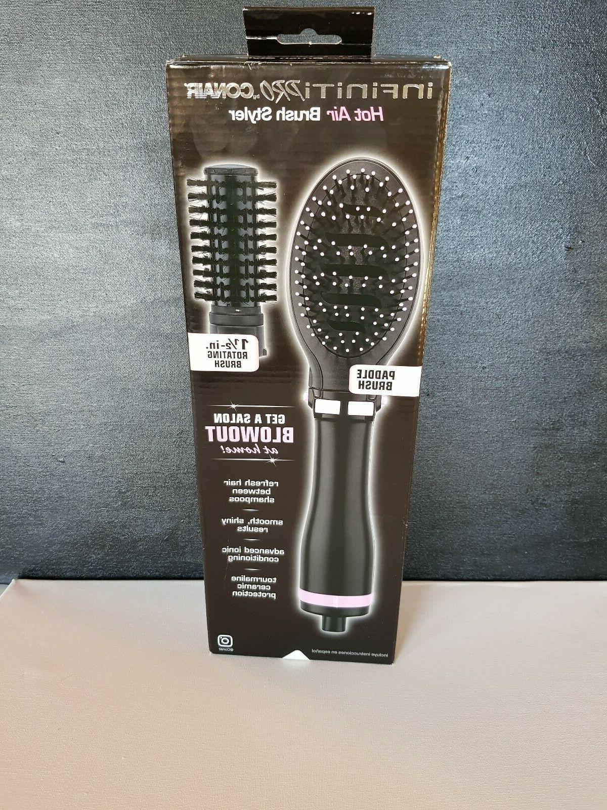 INFINITIPRO BY CONAIR Tourmaline Ceramic Hot Air Brush Style