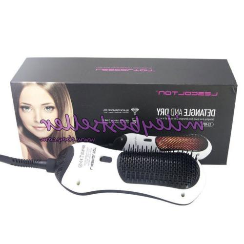 infrared heating hair detangle and dry