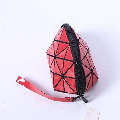 Fashion Isey Leather Cosmetic MakeUp Storage Clutch Bolsa Neceser