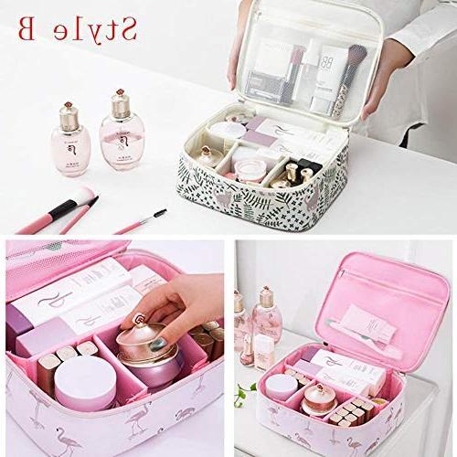 Organizer travel cosmetics cosmetic storage Women makeup