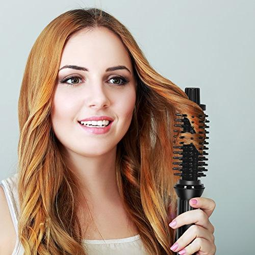 LOVANI Mini Curling Iron Portable Ceramic Ionic 3/4 Inch Curler for Hair,3 Curling Wand with