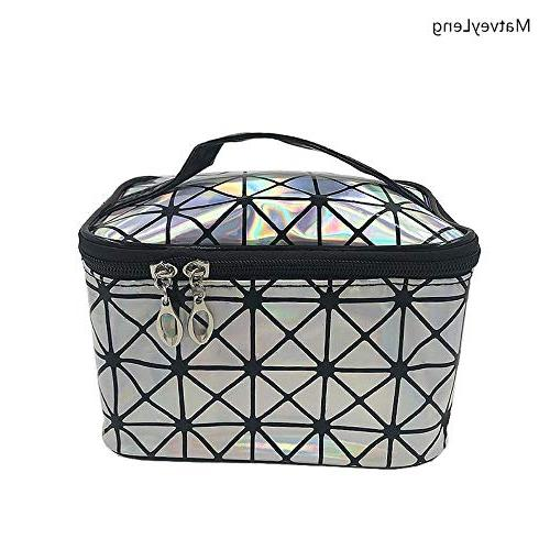 New Bag Leather Organizer Cosmetic Bag