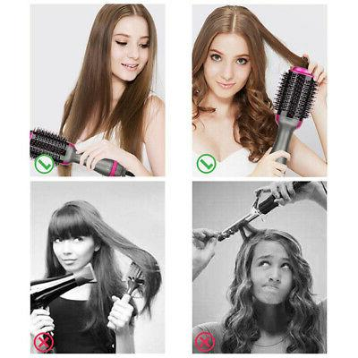 Multifunctional Hot-Air 3in1 Hair Dryer And Volumizer
