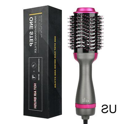 Multifunctional Hot-Air Brushes 3in1 Hair Dryer And Straightener