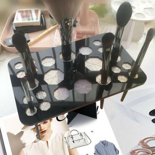new folding collapsible air drying makeup brush