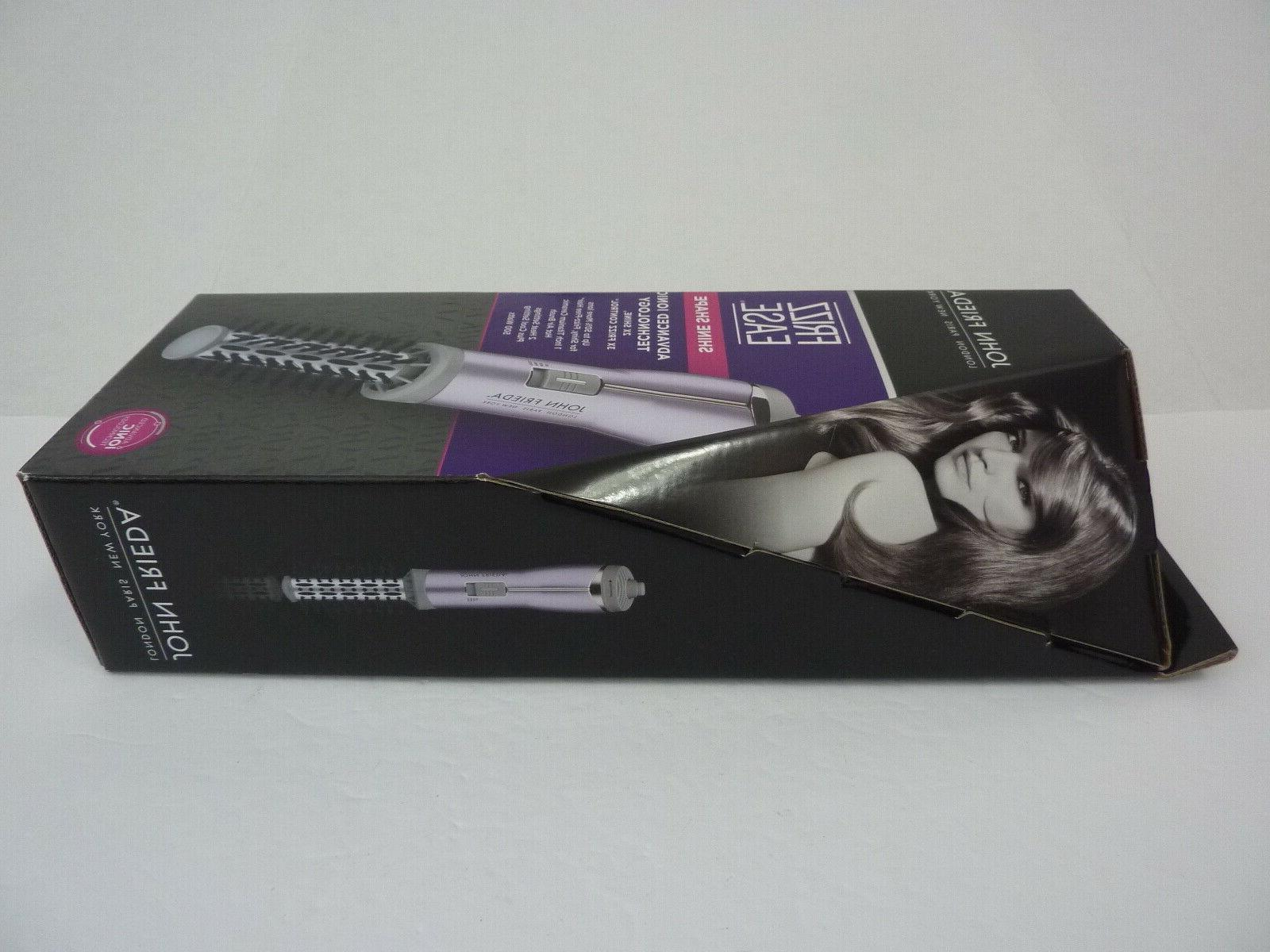 NEW - Frizz Ease Shine Shape 1-inch Hot Air Brush JFHA6NG