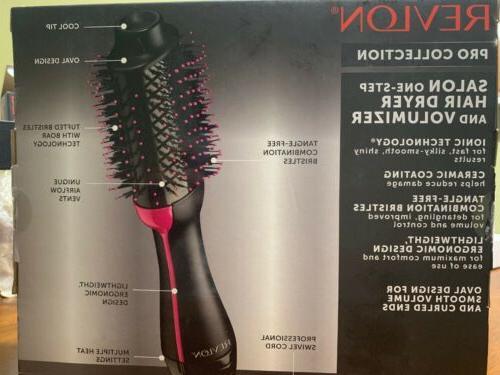 NEW Revlon Salon Step Volumizer Ion Black