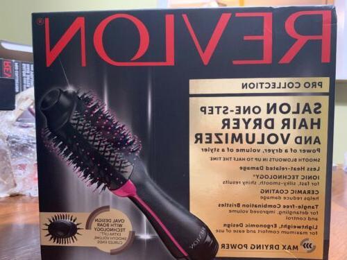 new salon one step hair dryer volumizer