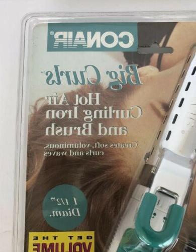 NEW Big Curls Air Curling Brush CD160RCS