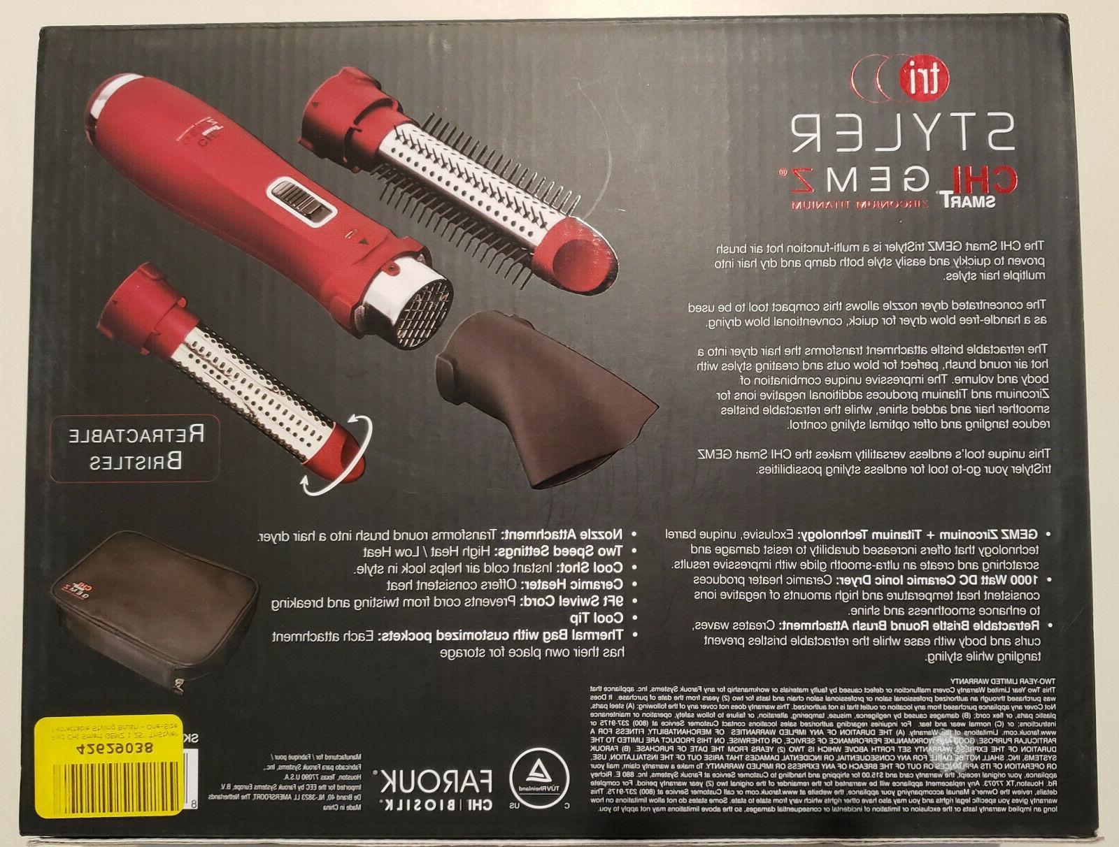 NIB triStyler function air brush,
