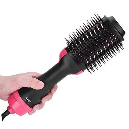 One Step Hair Dryer Styler Air Styler Dryer Straightener Curly Dryer Comb for All Anti-Scald