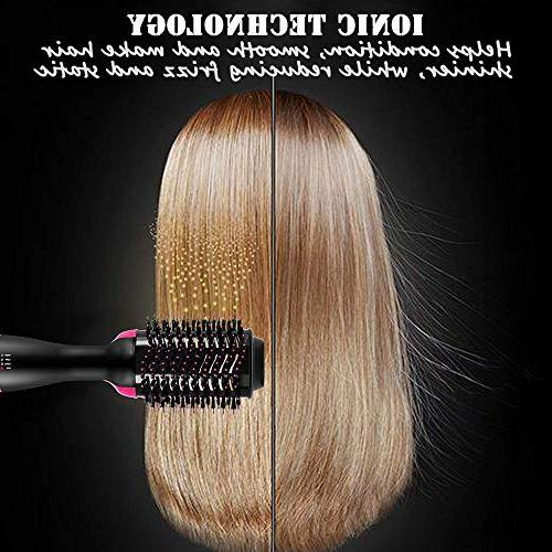 MIXSE Dryer and Hair Dryer One Negative Salon Brush 5PCS Roller Hair