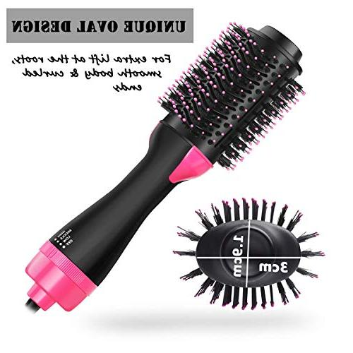 MIXSE One Hair Dryer Hair Brush in One Salon Multifunctional Brush 5PCS Hair Hair For