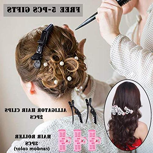 MIXSE One Dryer and Styler Hair Brush One with Salon Brush 5PCS Hair Hair Clips For Free