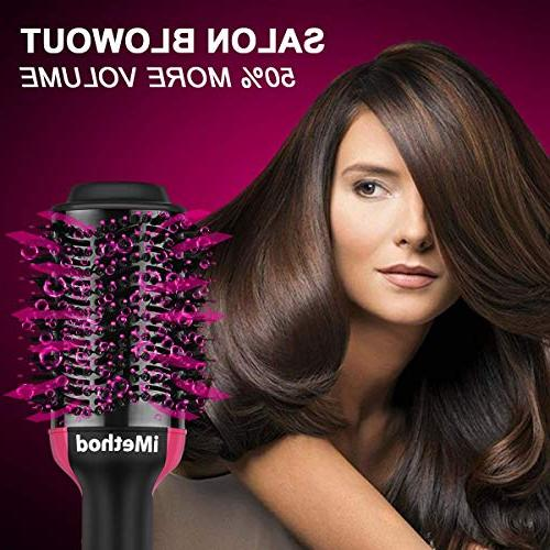 One Step 3-in-1 Ionic Hot for Hair Types, Get Blowouts Home Time