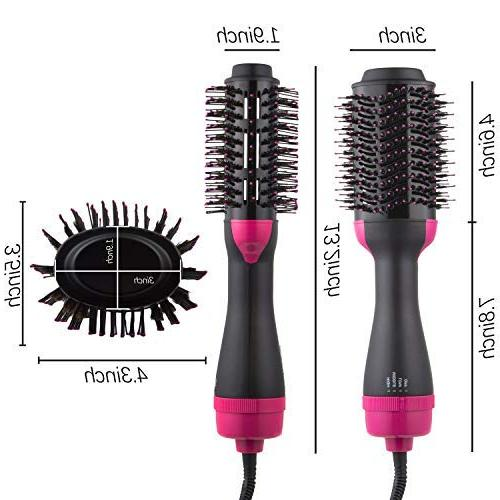 DORISILK Dryer Volumizer Styler, in 1 Hot Hair Brush Comb Iron