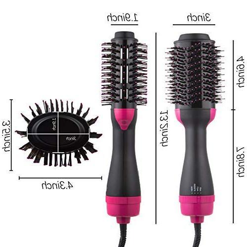 DORISILK Dryer Volumizer Styler, in 1 Hot Hair Brush Comb Iron