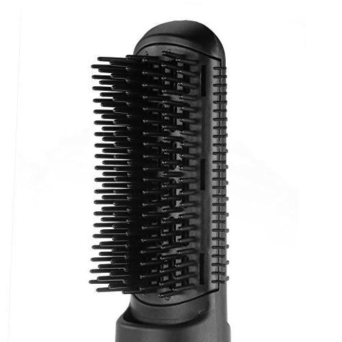 VoluLUXE & Volumizer or Dry Hair Curler and Styler Negative Ions Hair Brush - Dryer, Brush, Curling Iron, Straightener
