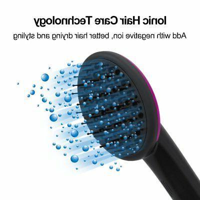 & Styler Paddle Brush | Negative Ion Generator |