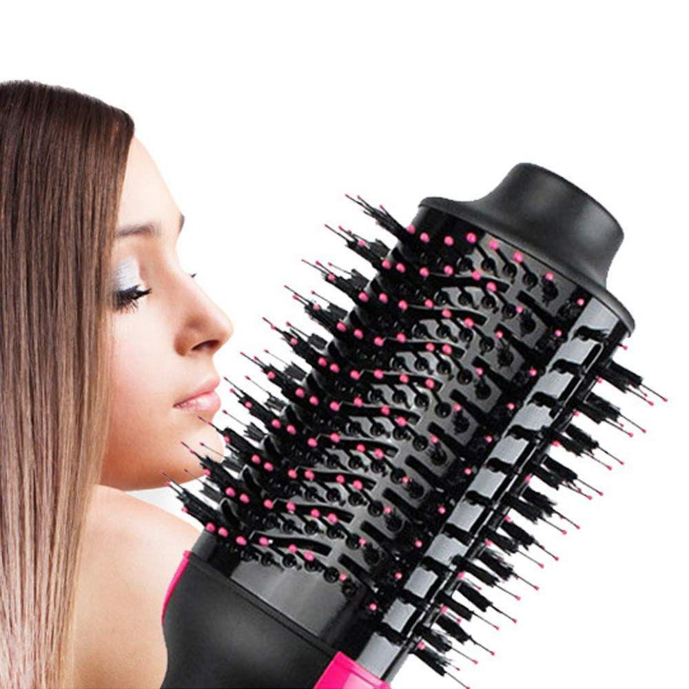 One <font><b>Hair</b></font> Dryer and ManKami NEW Paddle <font><b>Brush</b></font> <font><b>Hair</b></font> Curler