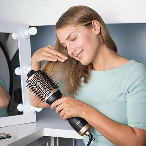 One Step Dryer Volumizer Curler Straightener Brush