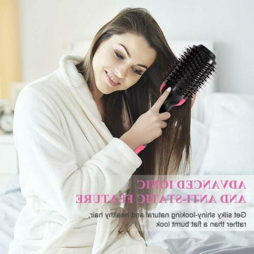 One & Volumizer in 1 Hot Comb Straightening