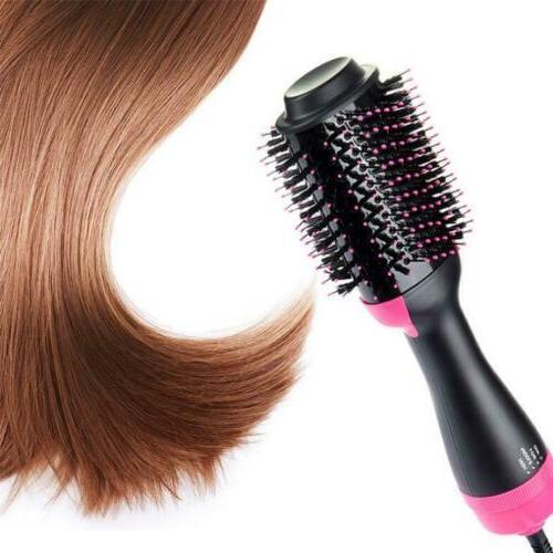 One Step Hair Brush Straightening Hot Brush