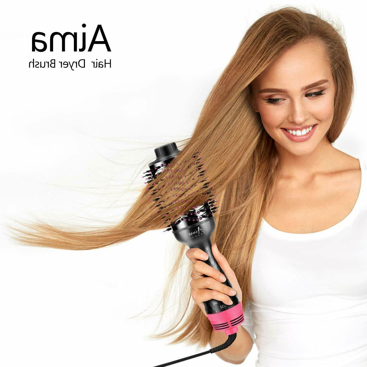 AIMA BEAUTY One-Step Dryer And Air Black