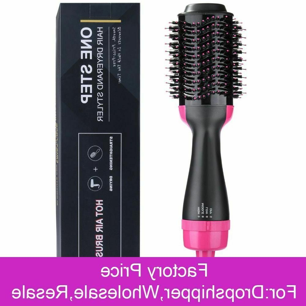 One Step Brush straightener in Electric Air